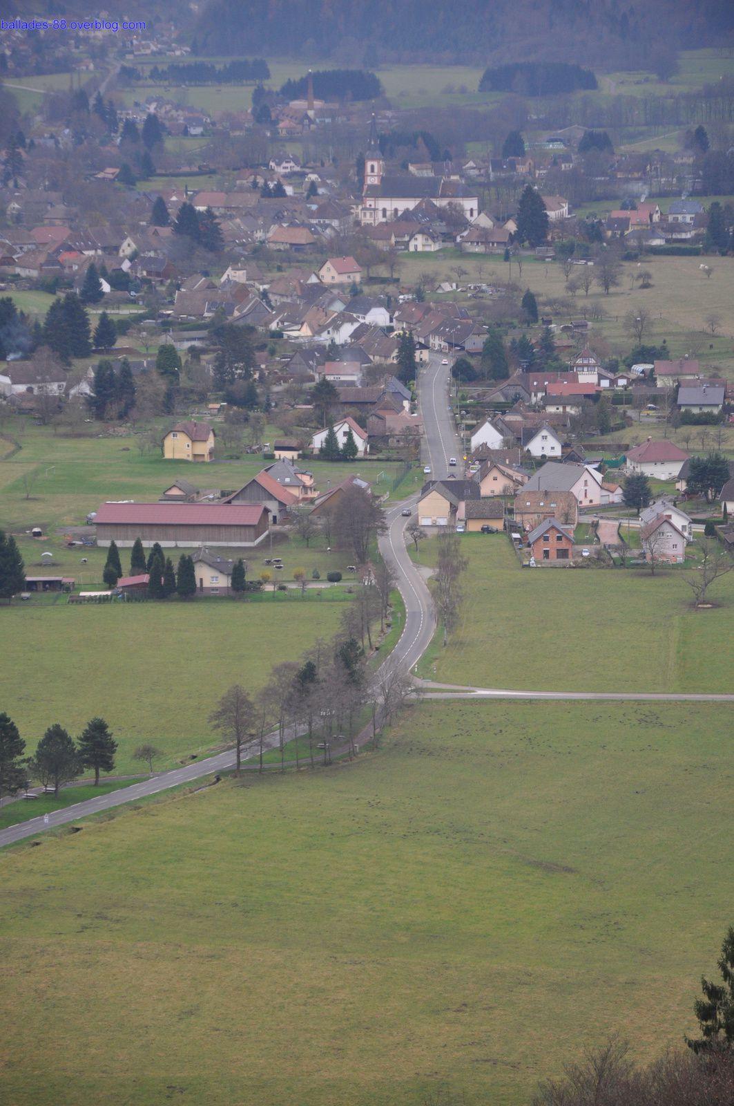 Ruines du chateaux de Wildenstein.