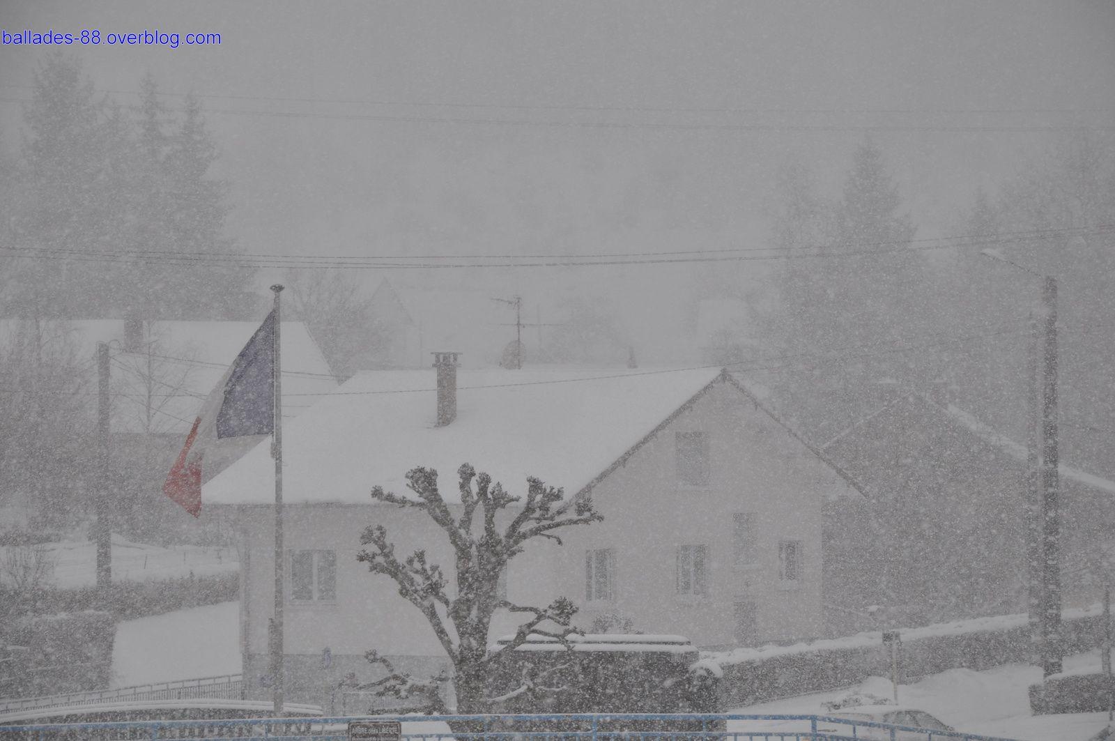 Fresse sur Moselle 30 janvier 2015 matin.