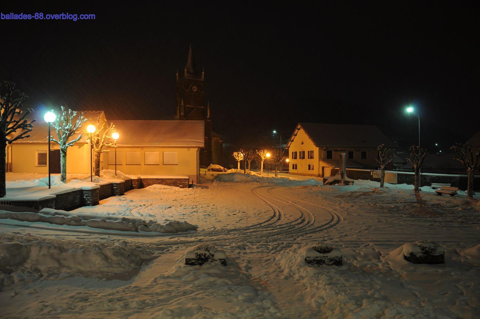 Fresse sur Moselle 30 janvier 2015 soir.