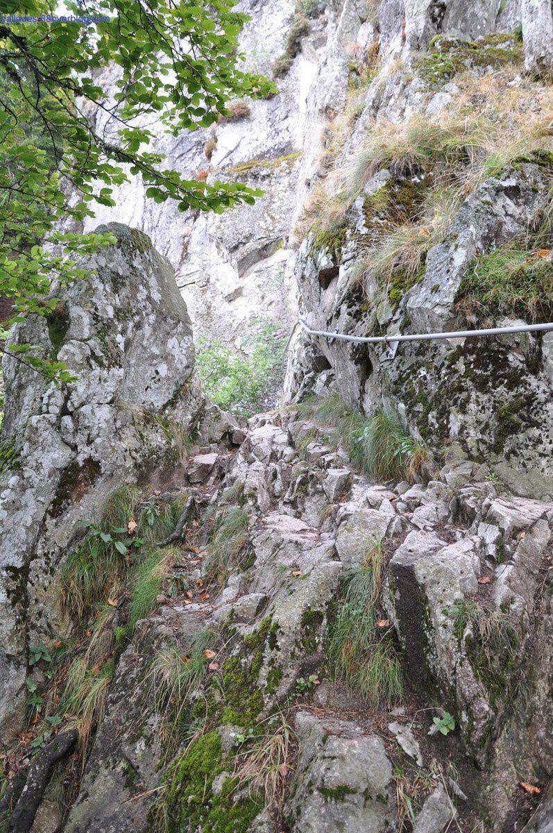 Le sentier des Roches 6 septembre 2015