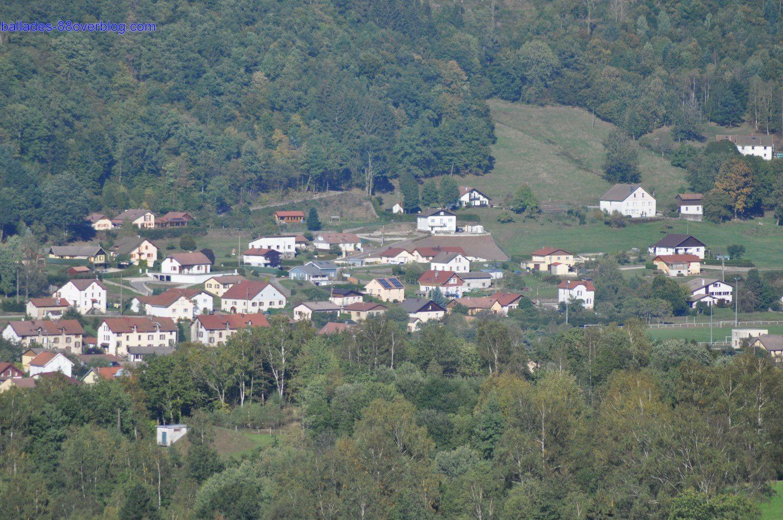 Le Plain de Fresse sur Moselle .
