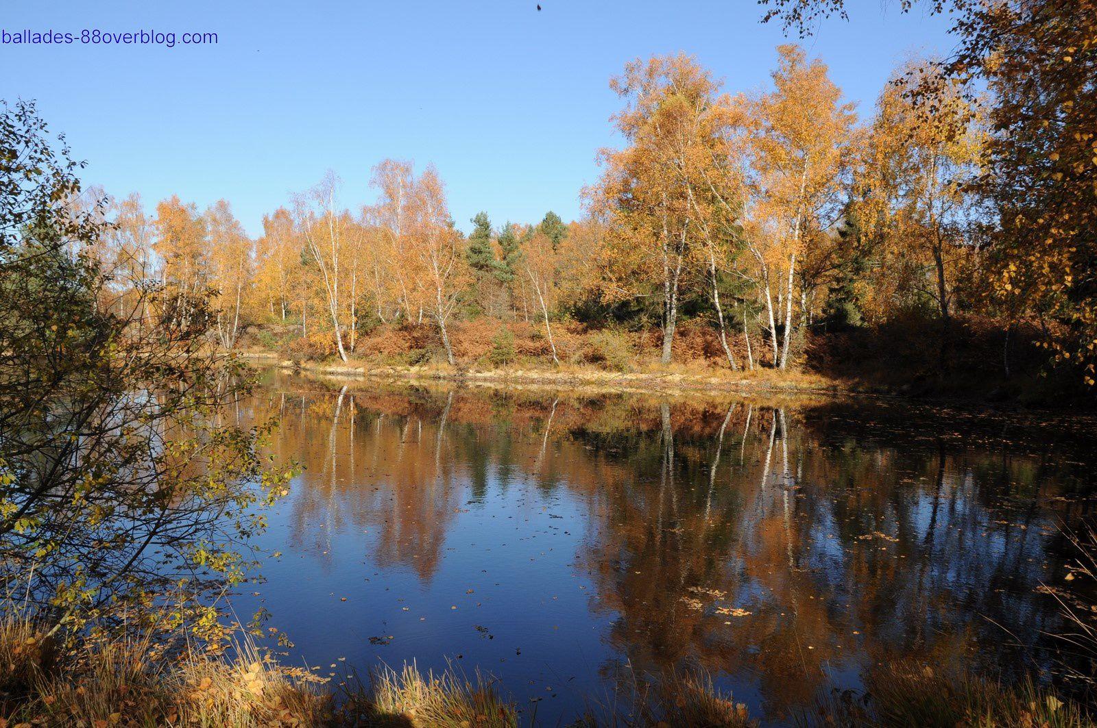 Plateau des 1000 étangs 2 novembre 2015