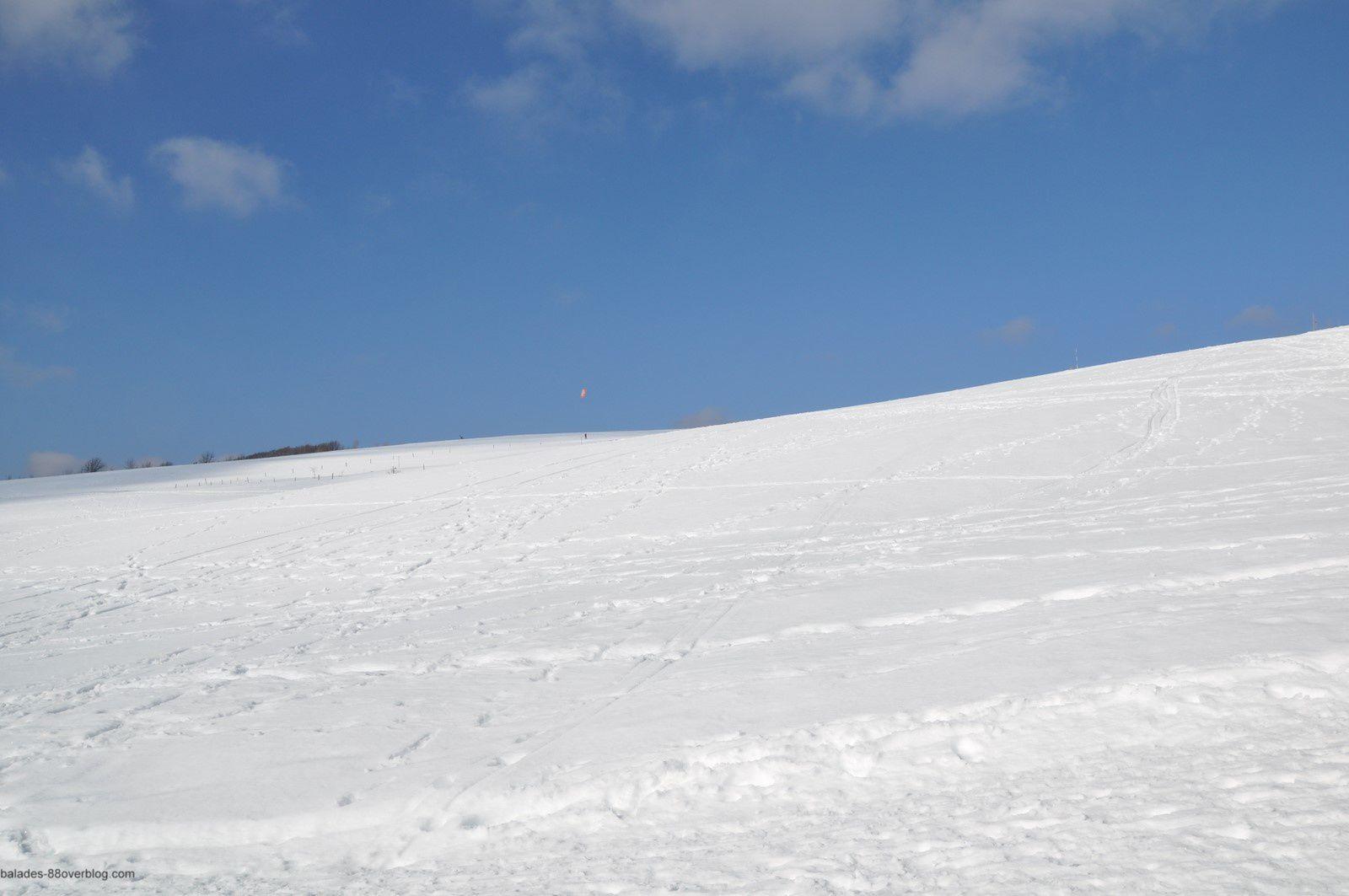 Fin d'hiver sur les Vosges.
