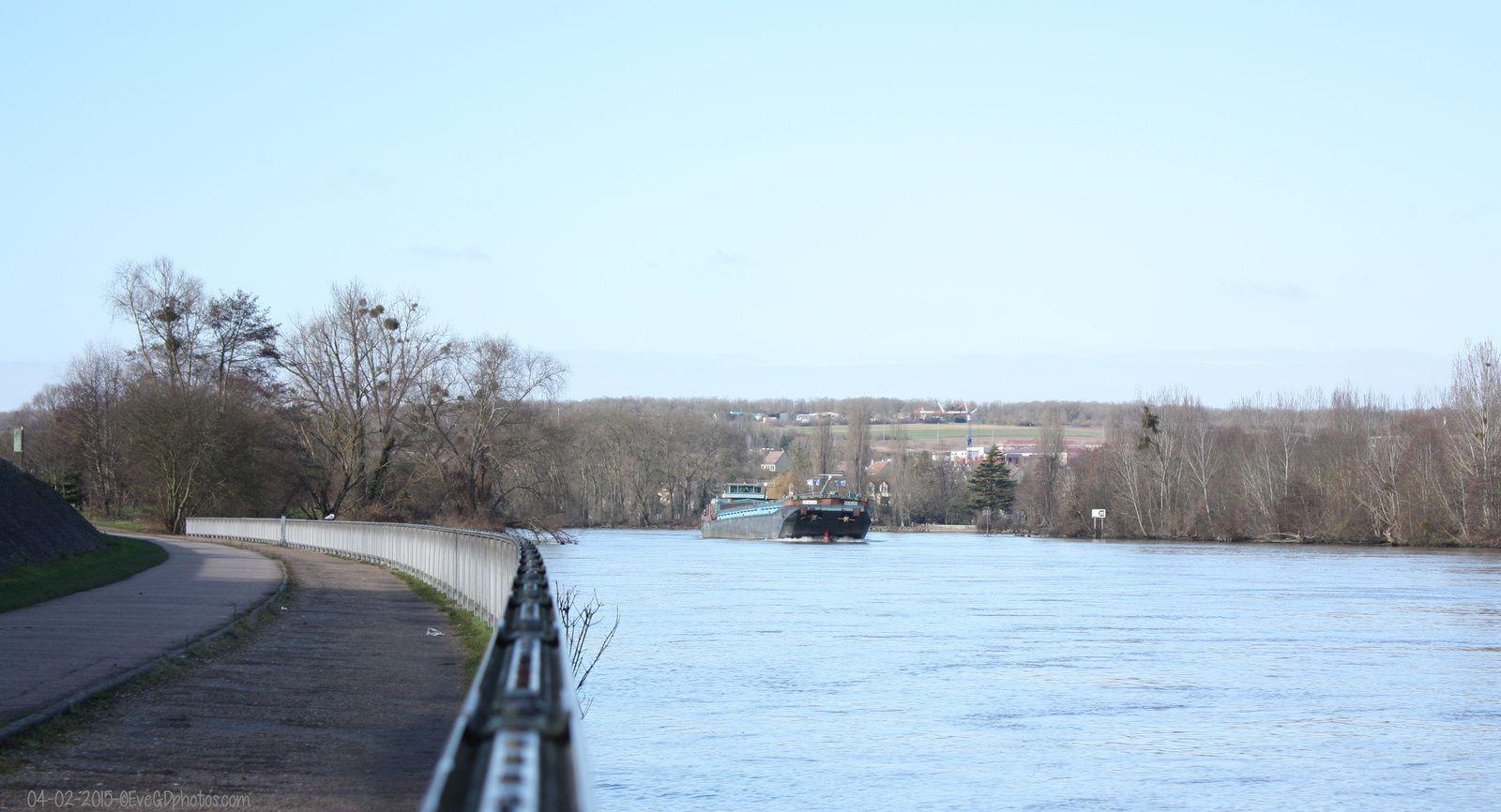 Les Bords de Seine.. en février