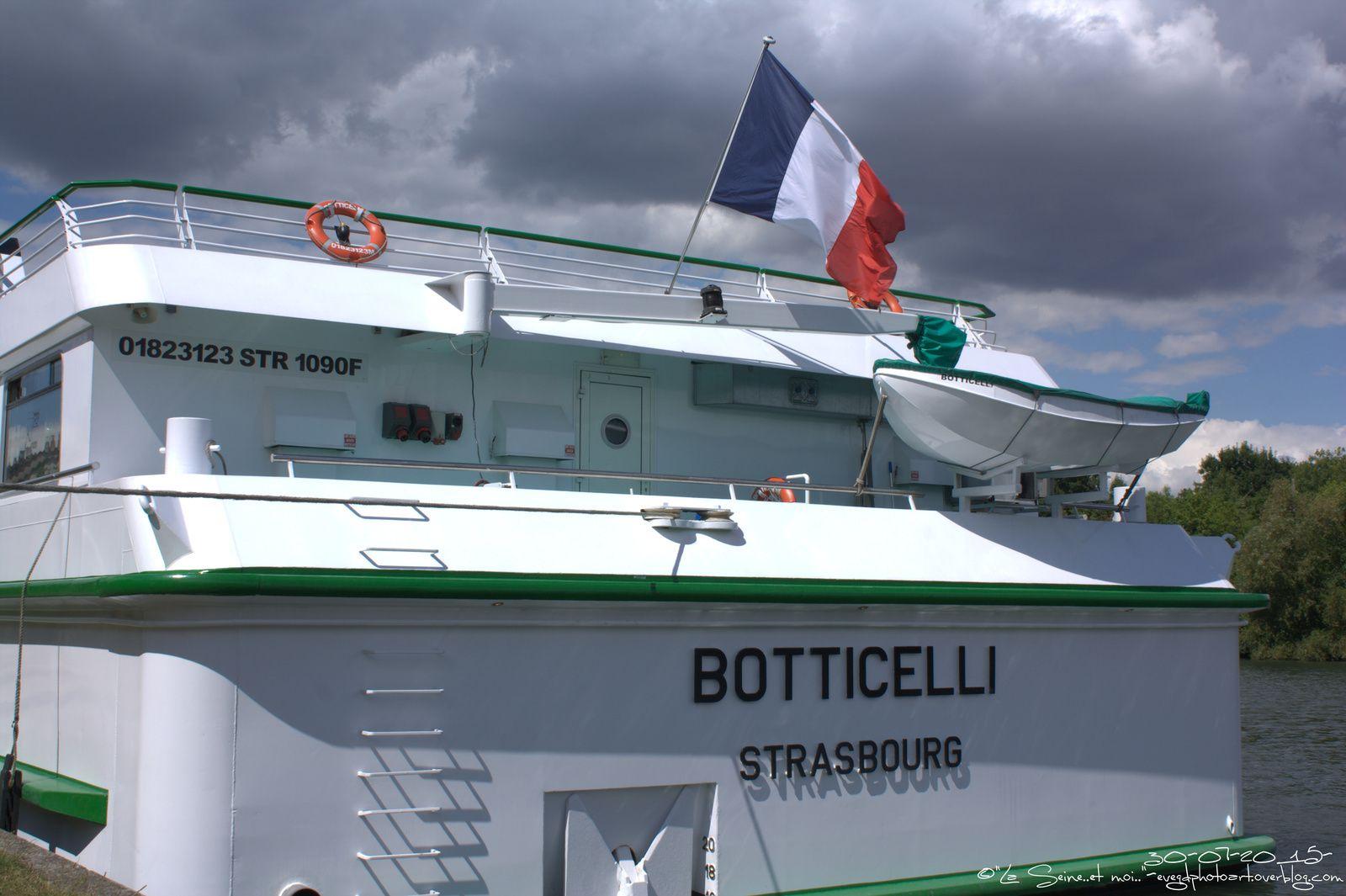 Croisières en Seine.. Le &quot&#x3B;Botticelli&quot&#x3B;