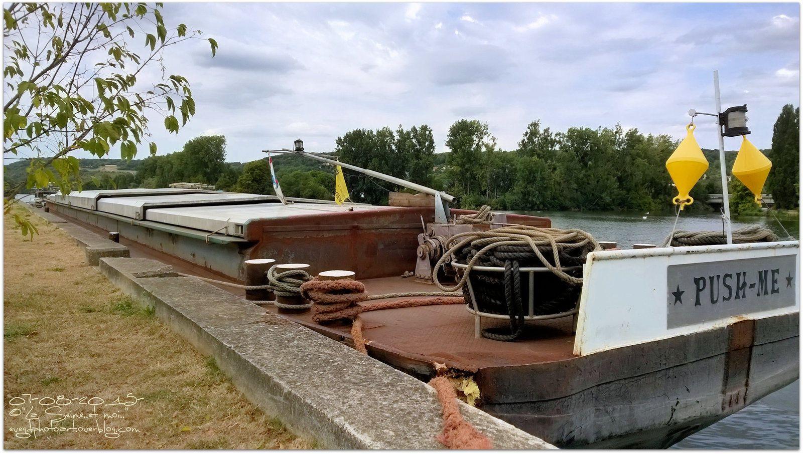 &quot&#x3B;To'Go&quot&#x3B; et &quot&#x3B;Push-Me&quot&#x3B; sont des bateaux..