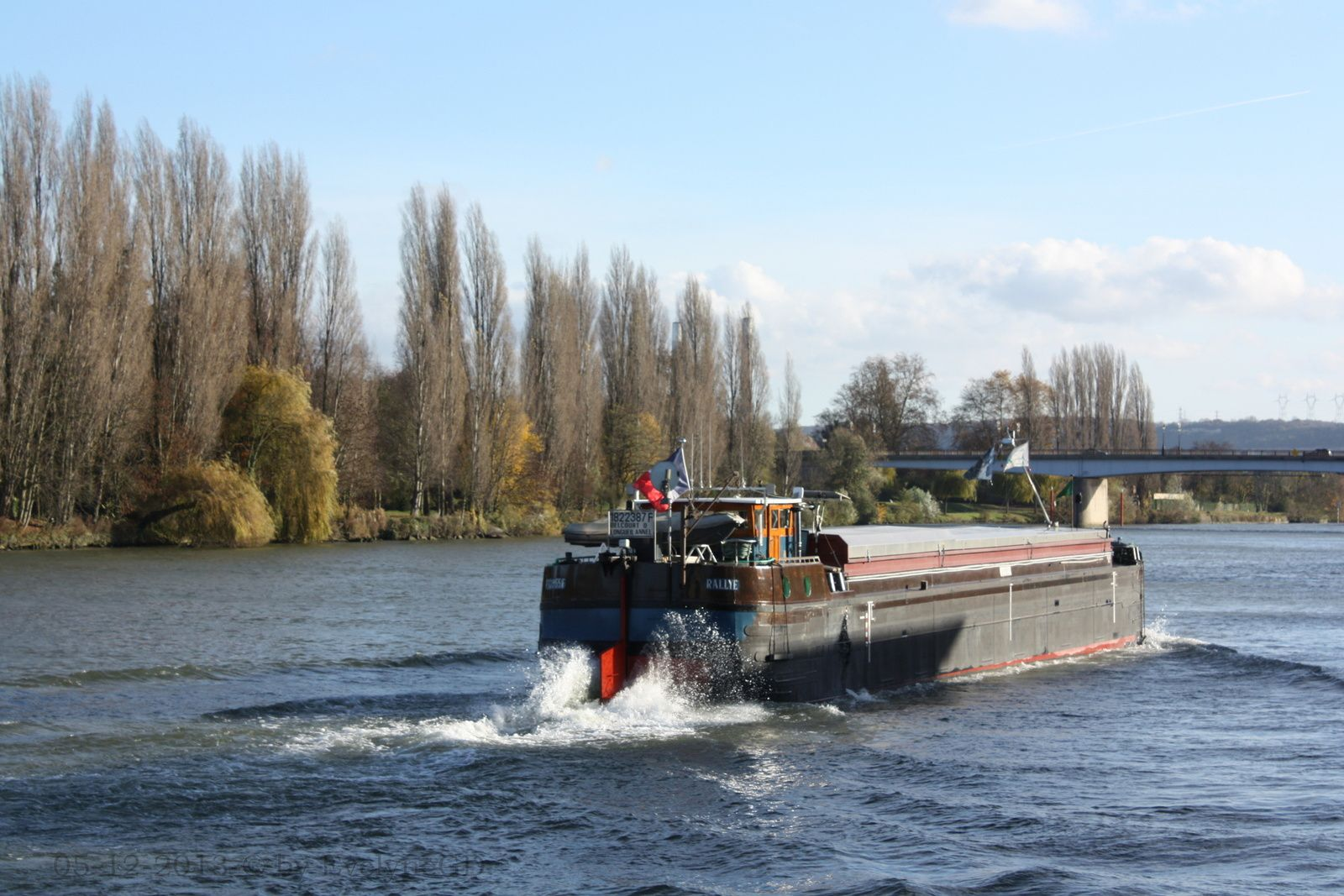 Sur la Seine... Quelle circulation !