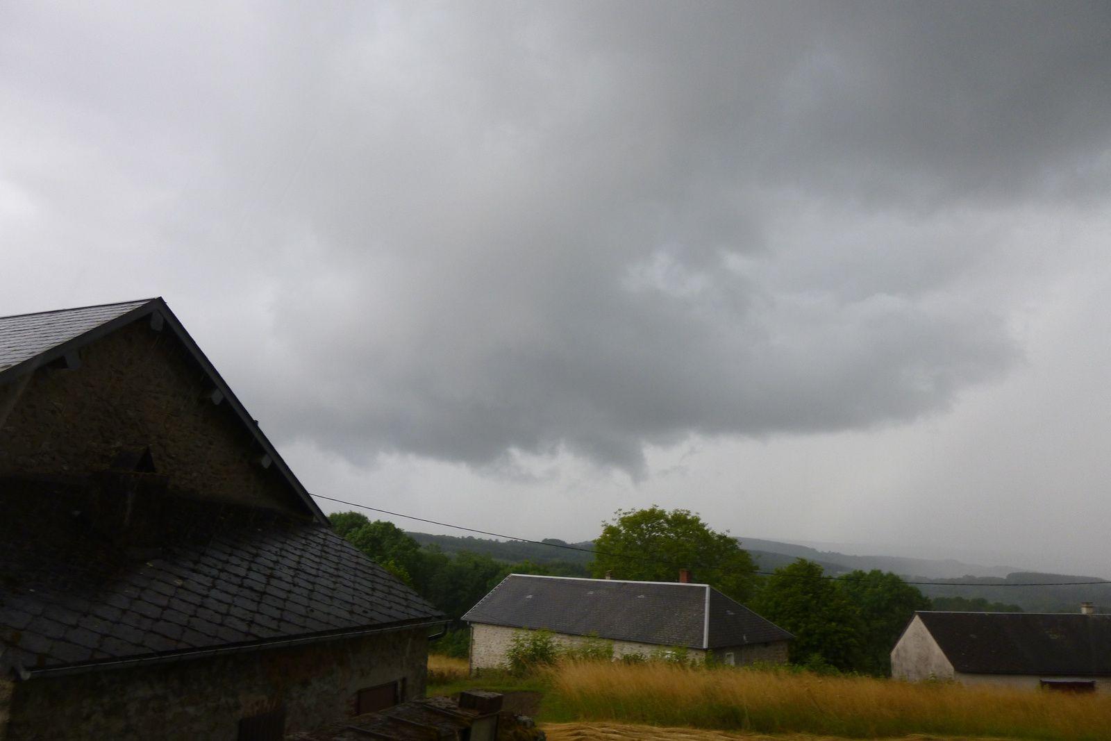 Deux jours sous la pluie dans le Morvan