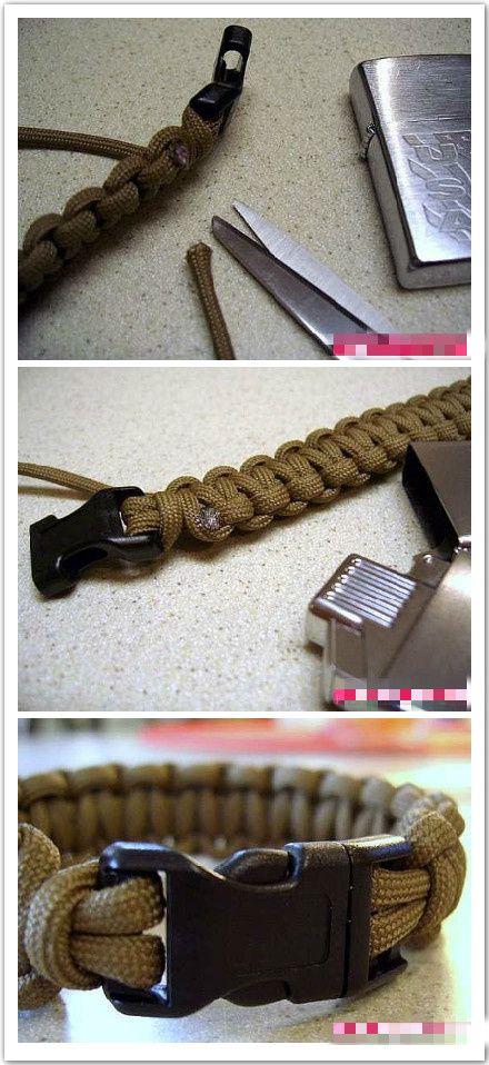 Stylish men's braided bracelet creating tips