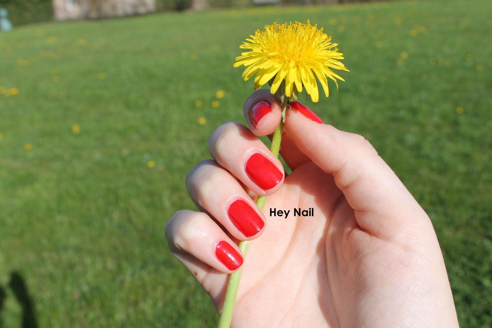 Fashion Nails n°3 - Le Rouge à l'Honneur !