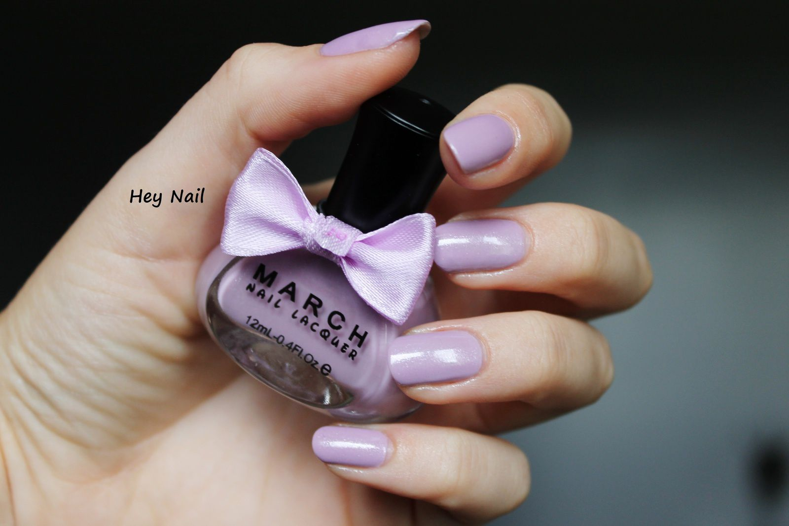 March Nail Lacquer - Violet Clair