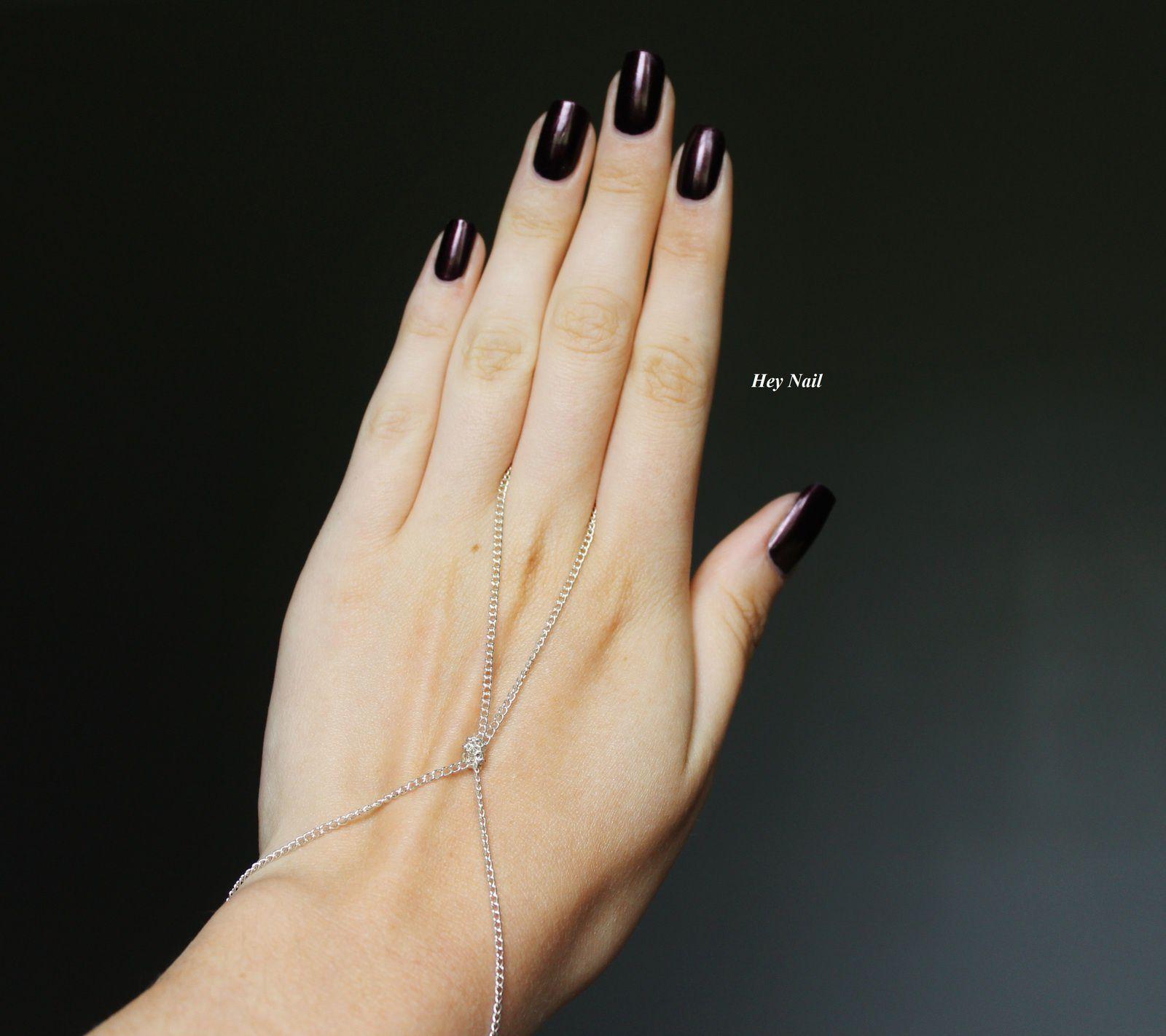 Bracelet chaîne simple de chez Née Jolie