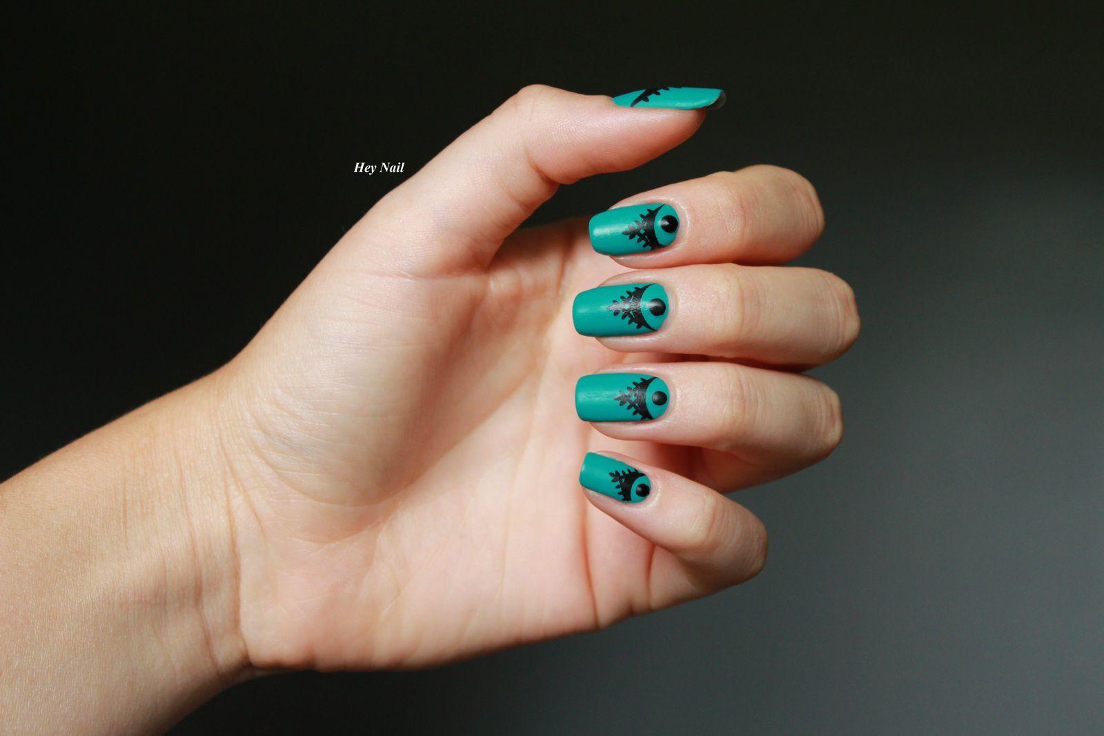 Nail Art Avec des Tatoos !