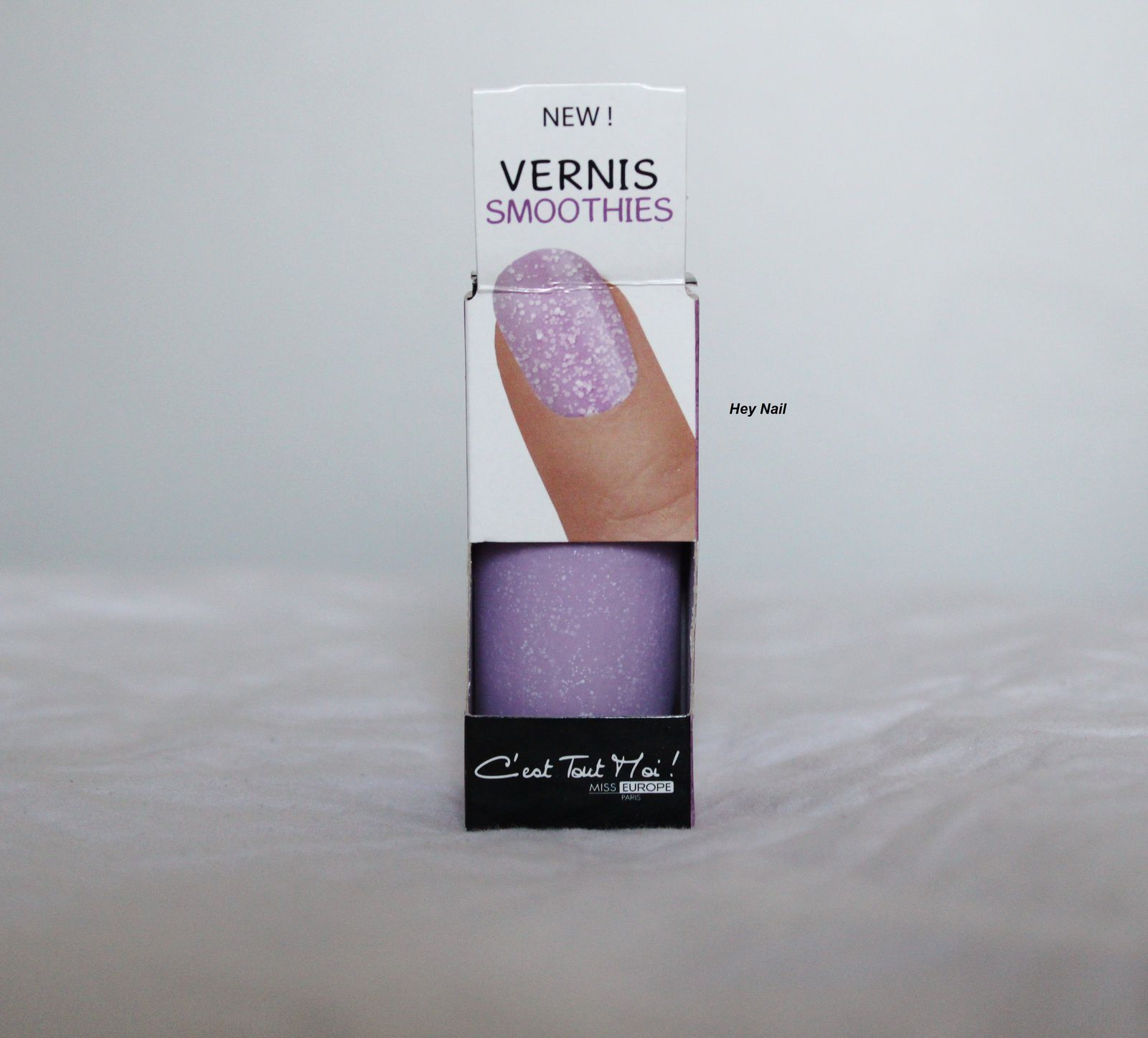 Miss Europe Vernis Smoothie - N°2 Lavande