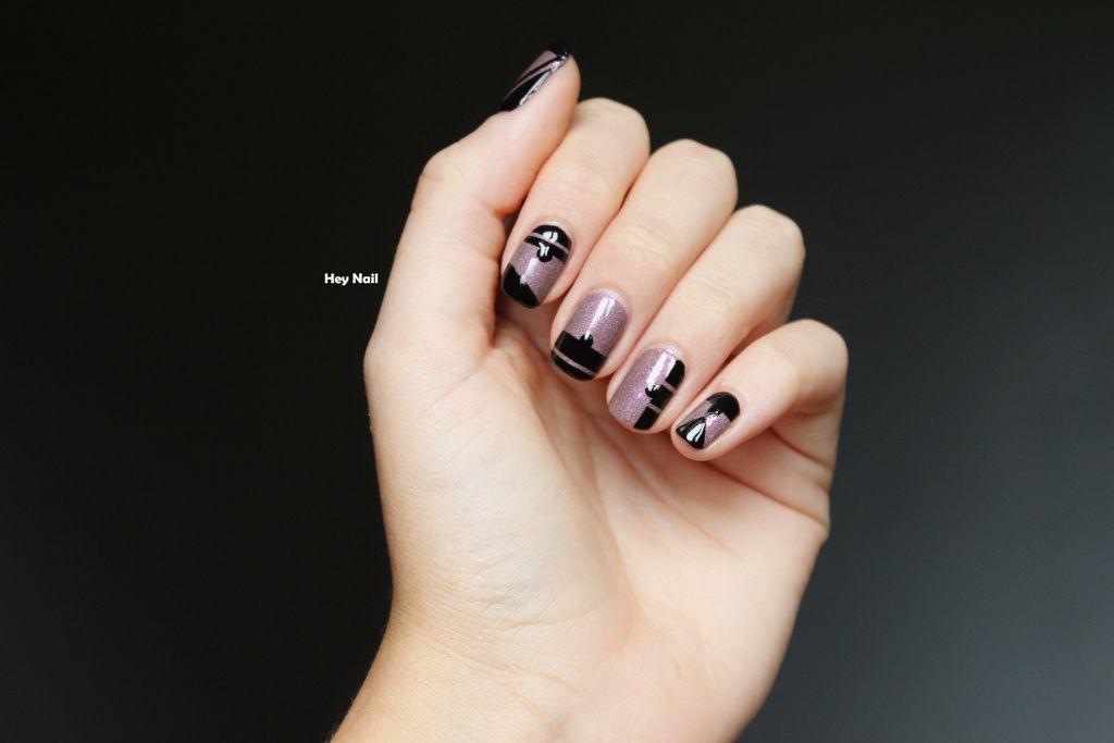 Nail Art Graphique / Moderne