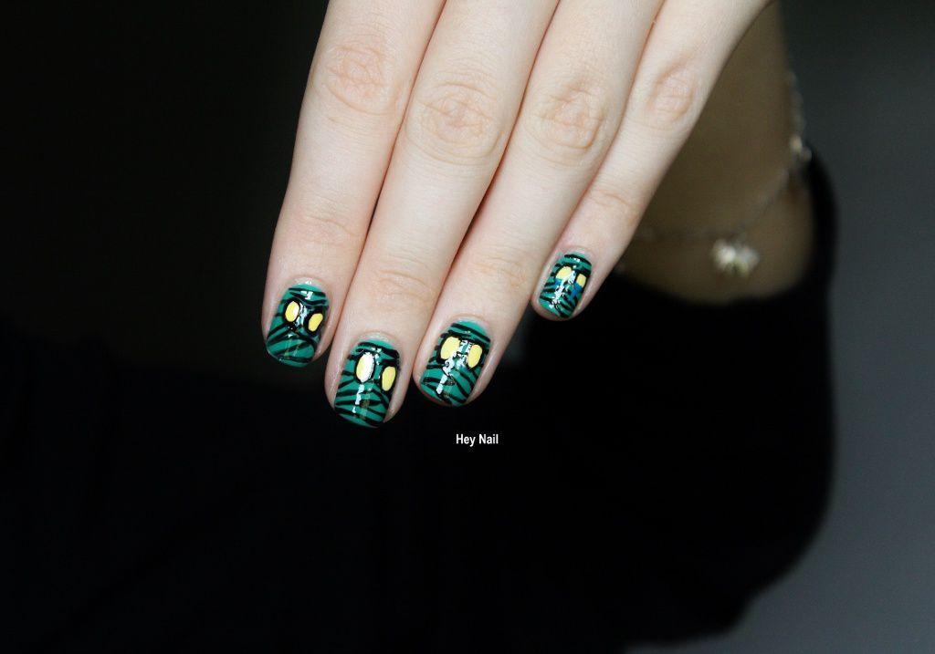Nail Art Amumu For Halloween !