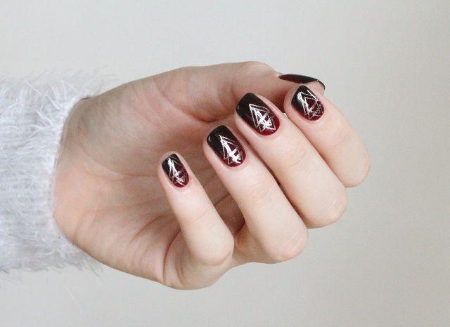 Nail Art Dégradé Graphique