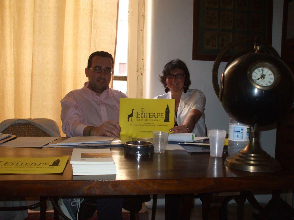 Da sinistra Lorenzo Spurio e Monica Fantaci