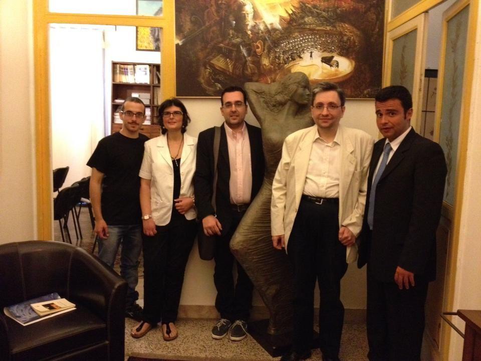 Presentazione dei due libri di Emanuele Marcuccio e dell'Antologia Int. TPLM: Palermo, 16 giugno 2013