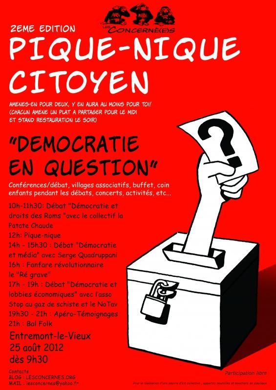 Rendez vous au pique nique citoyen en Chartreuse