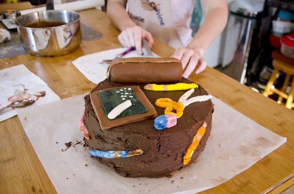 Et voilà notre gâteau de la rentrée!