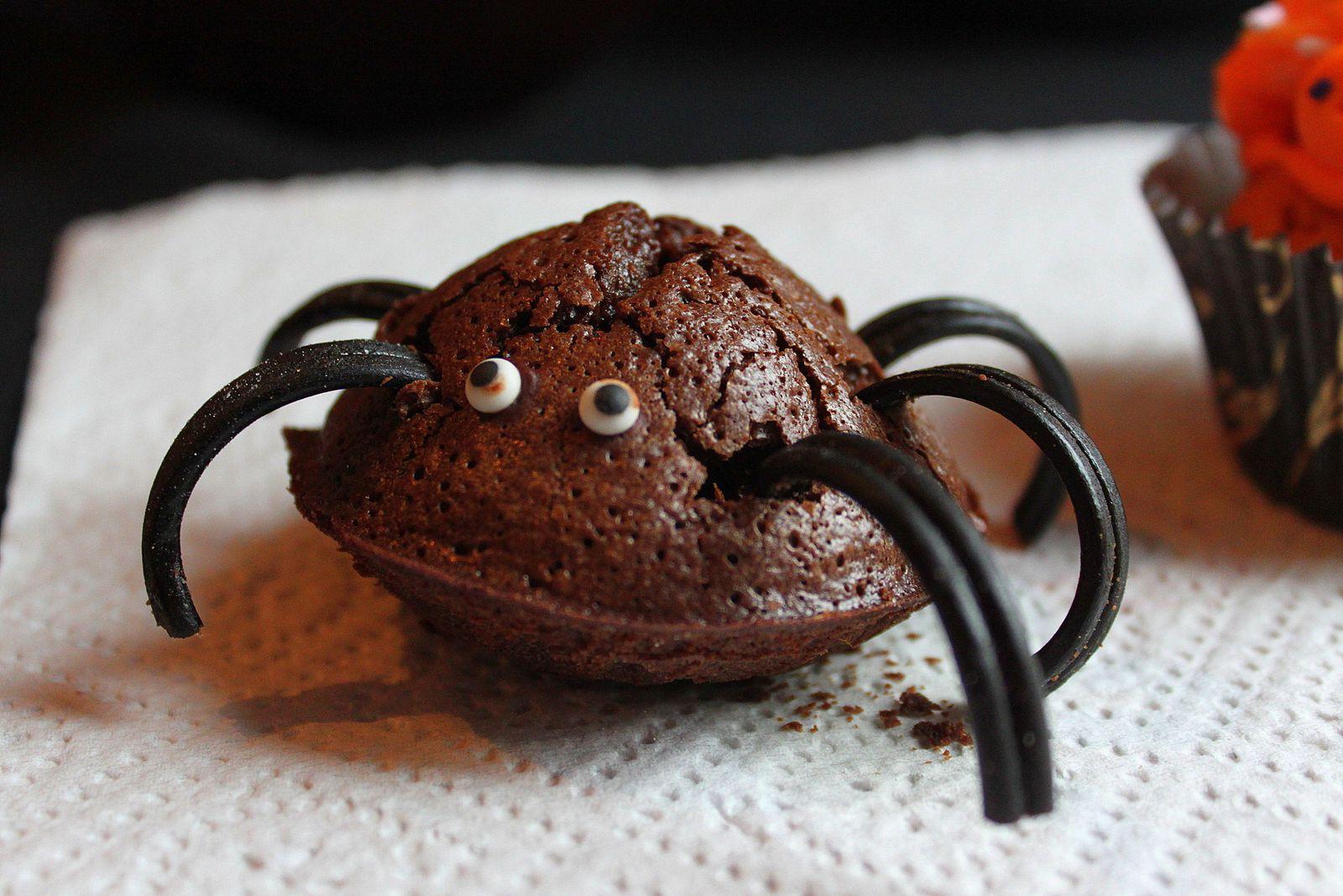 Notre araignée fondante au chocolat!