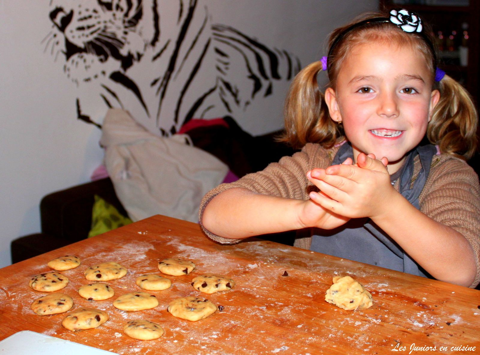 On fini par les cookies!!