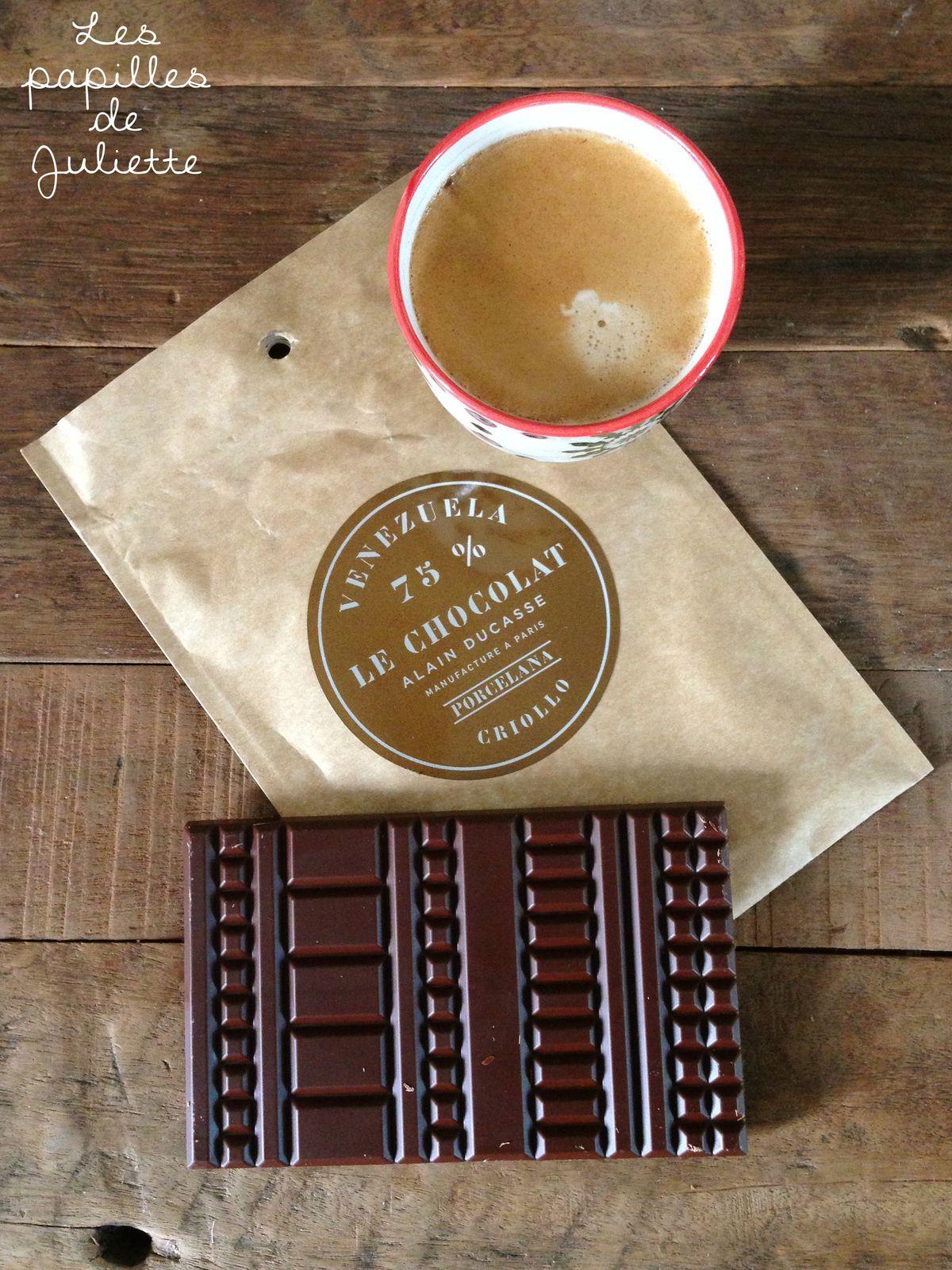 ▲ Coup de ♥ pour la nouvelle tablette de chocolat noir, Venezuela 75% de cacao d'Alain Ducasse ▲