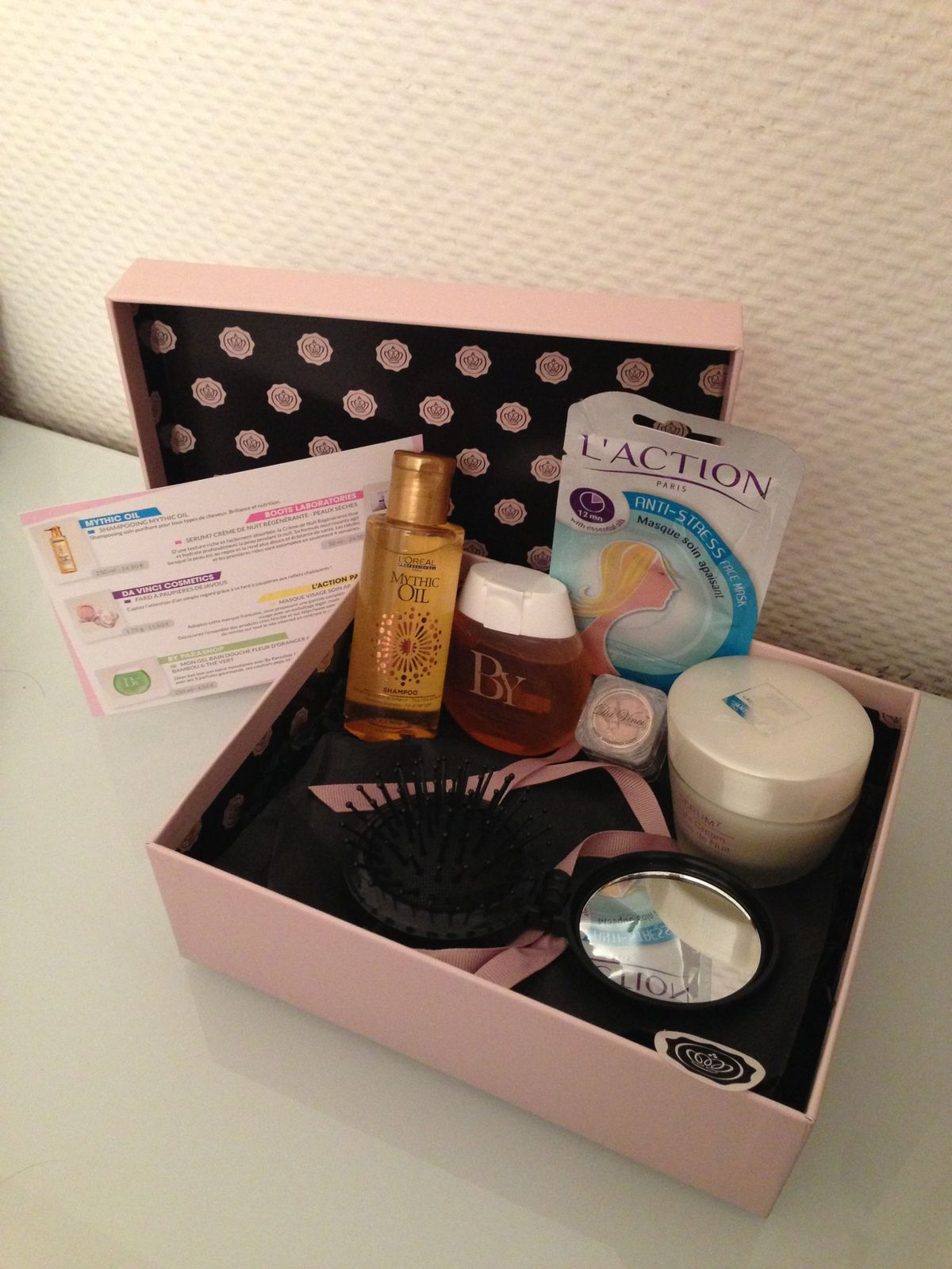 Glossybox d'avril : Femininity Booster