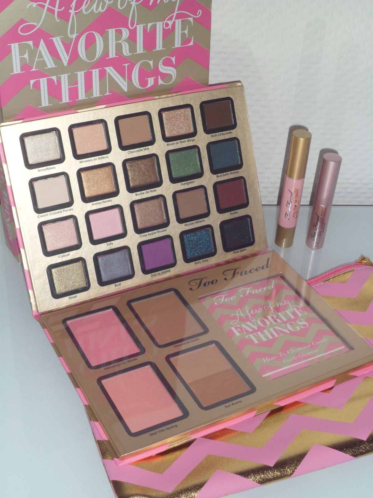 Nouvelle palette de Too Faced : a few of my favorite things