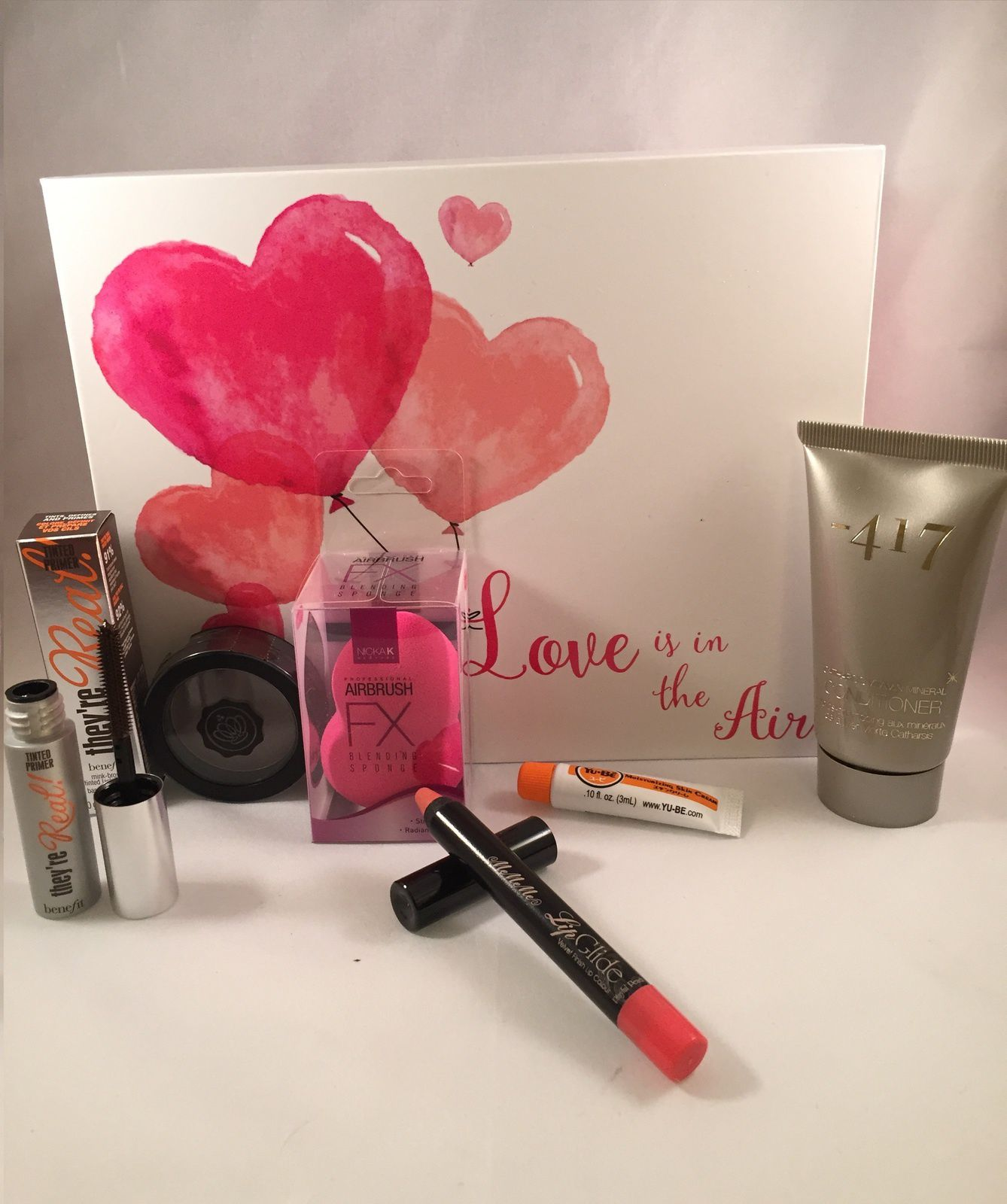 Love is in the air - Glossybox Février 2016