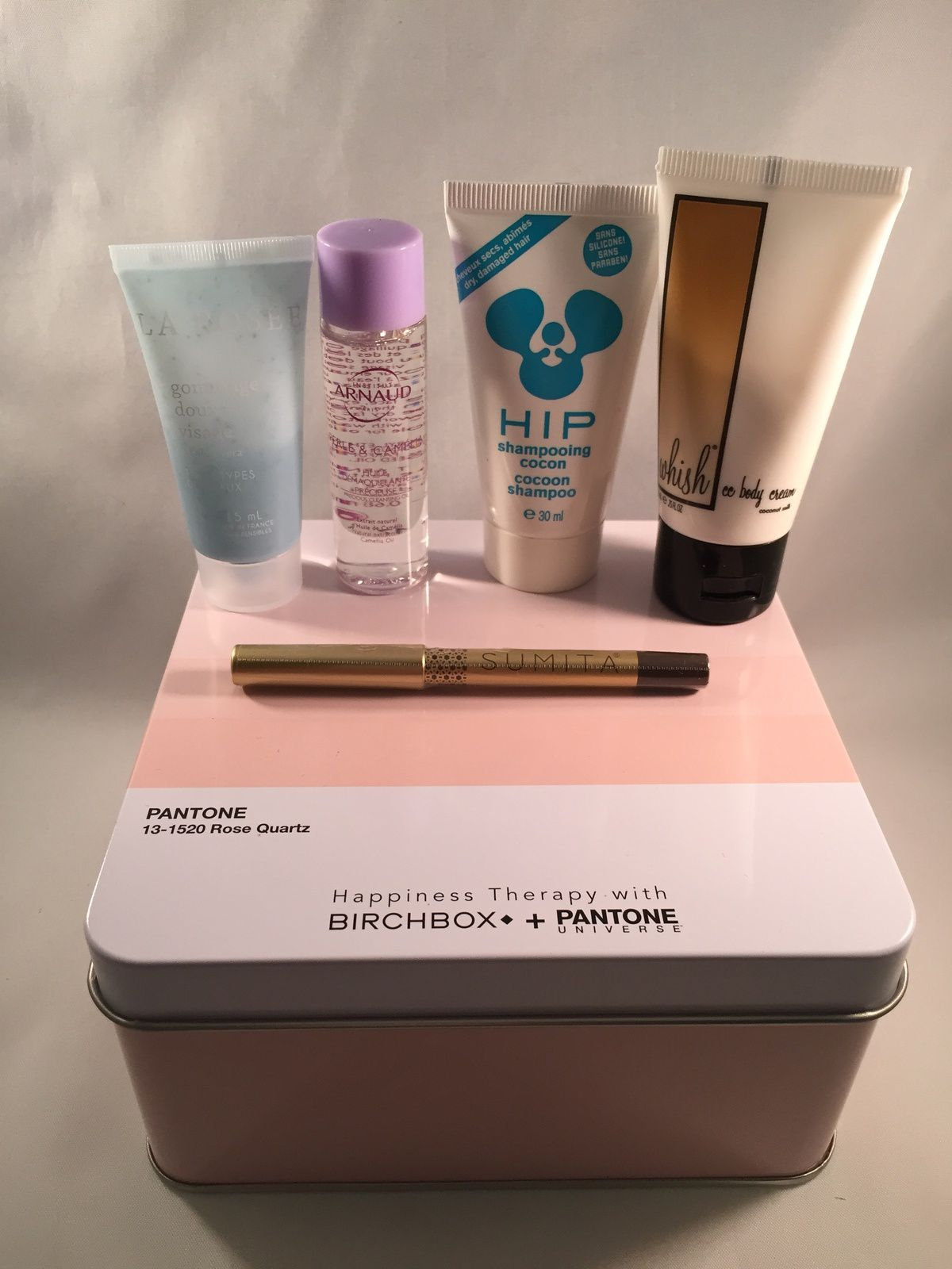Happiness Therapy with Birchbox + Pantone - avril 2016