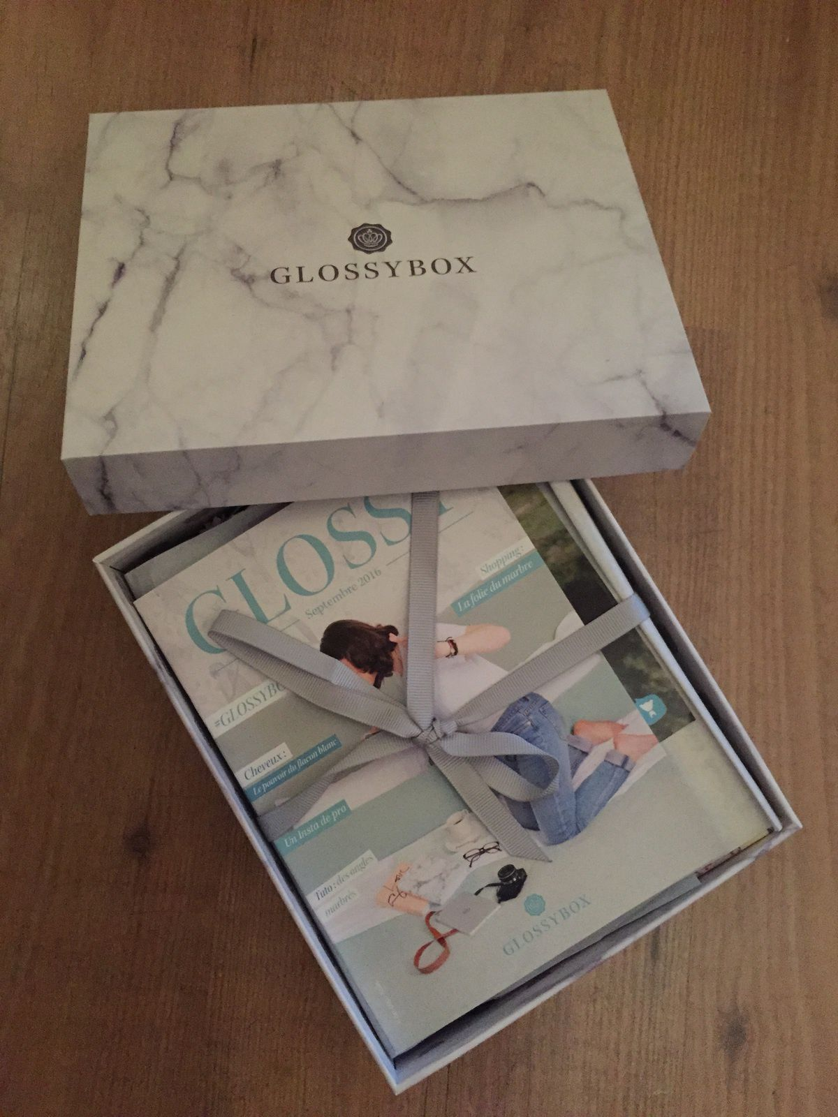 #Glossybox - Septembre 2016