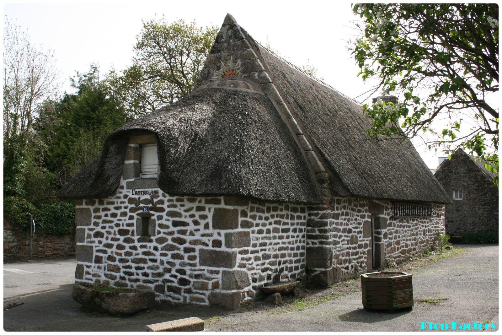 Escale en Bretagne : Hameau de Kerascoët, Névez