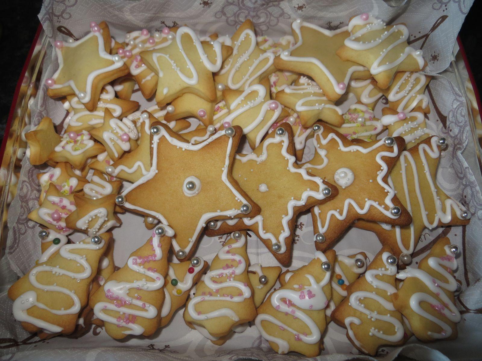 Butterbredelés ,petits biscuits au beurre alsacien