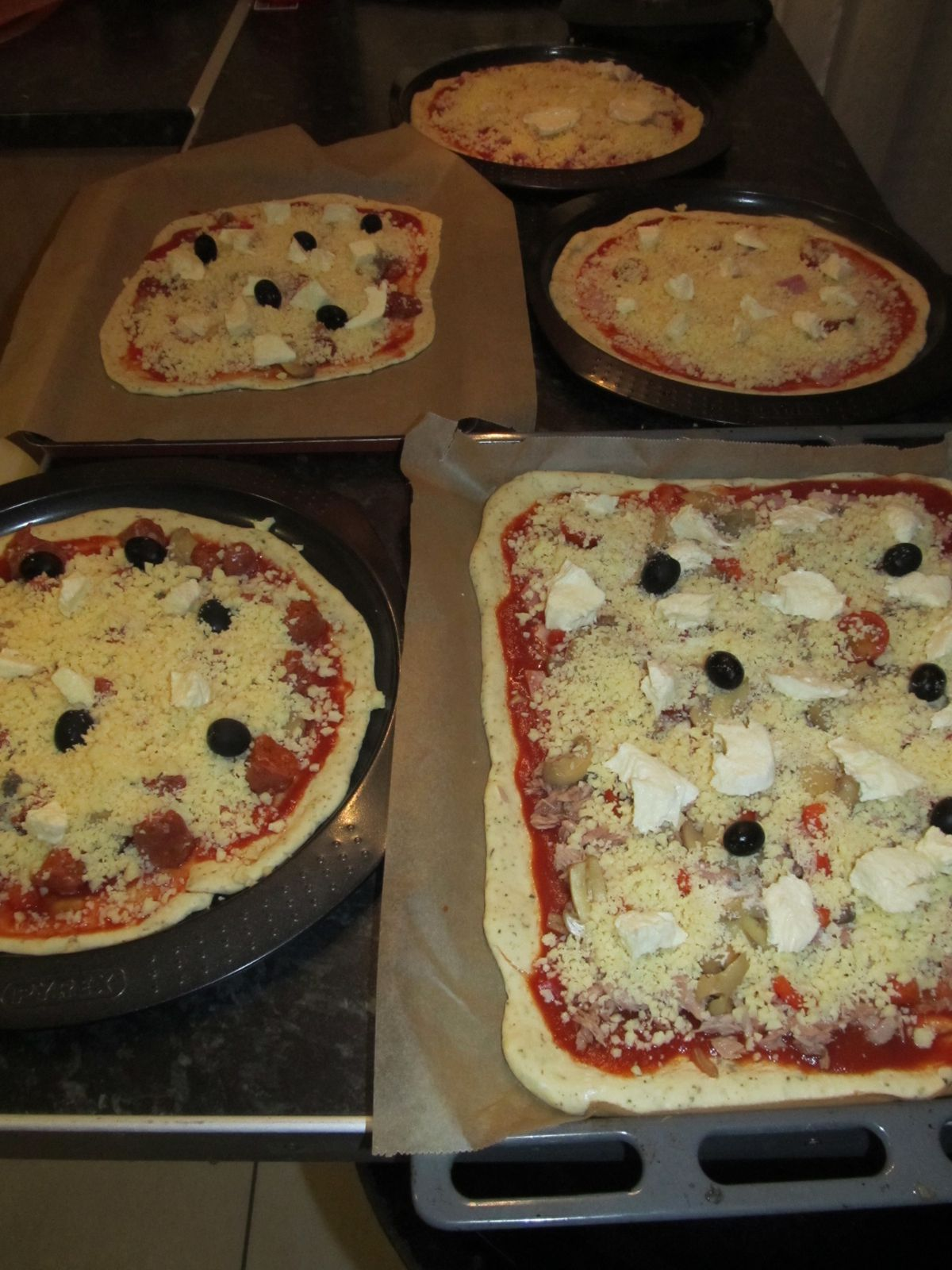 Pâte a pizza au thermomix