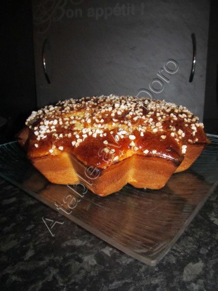 Brioche au levain kayser a table avec doro for A table avec thermomix