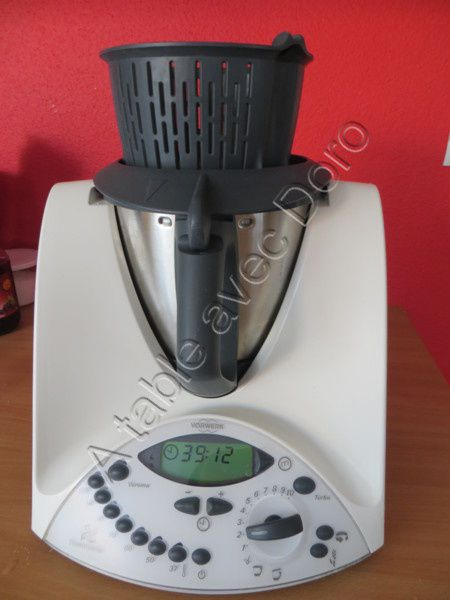 Ketchup maison au thermomix a table avec doro for A table avec thermomix