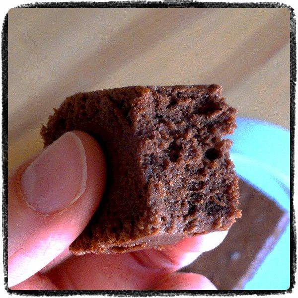 Gâteau léger au chocolat et lait concentré