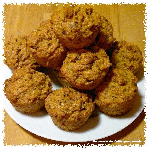 Muffins Courge Butternut Dattes