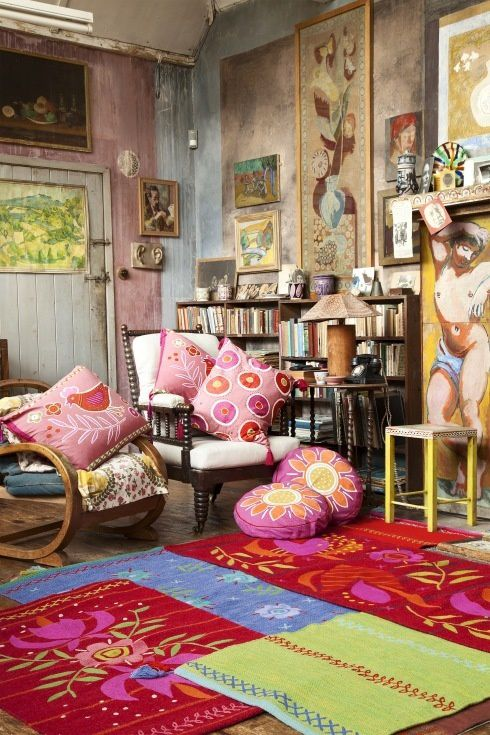 Deco hippie chic for Chambre hippie