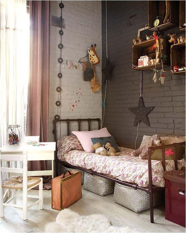 Idées déco chambres d\'enfants - HIPPIE CHIC