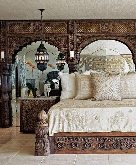 Deco hippie chic for Bedroom designs indian style