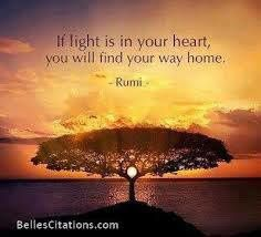 Belle citation de Rumi (poète persan du XIIIe siècle)
