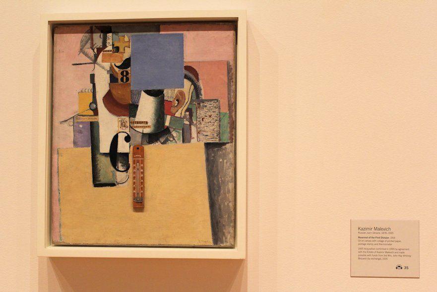 3 artworks of Kazimir Malevich