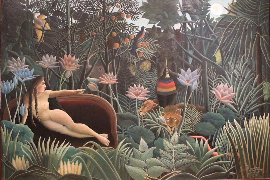 Henri Rousseau The Dream 1910