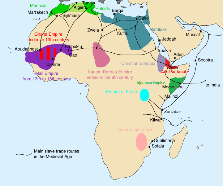 African slave trade (from Wikipedia, the free encyclopedia)