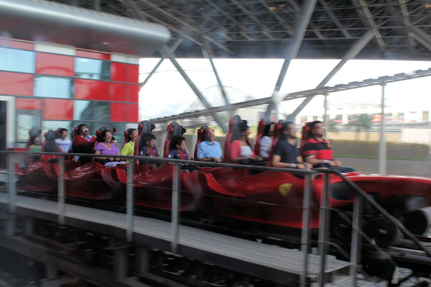 Ferrari World, Yas island -