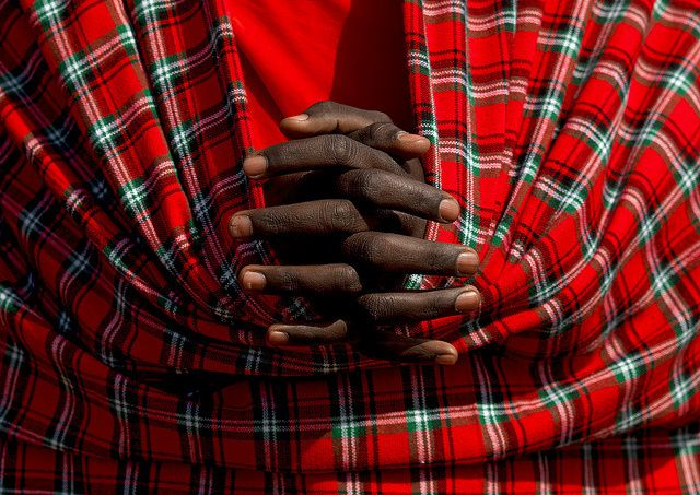 Little Maasai Warrior