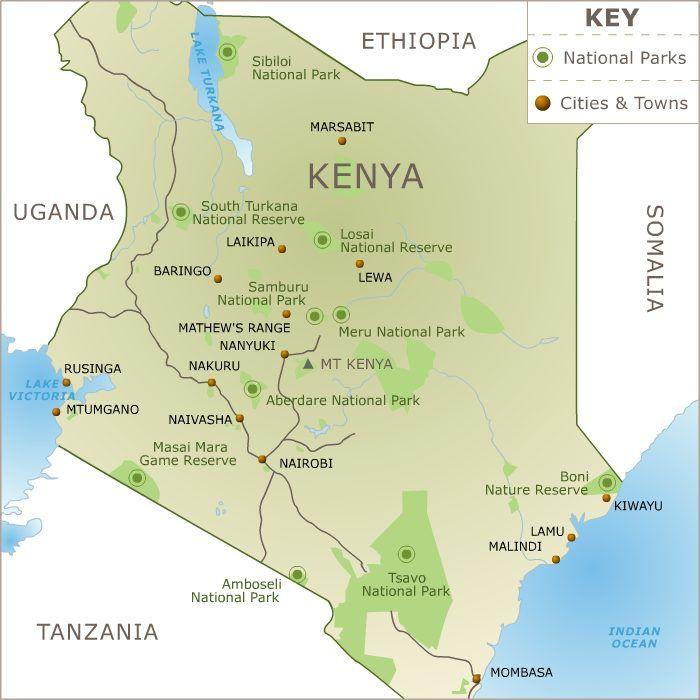 Hiking Mount Kenya. Part 1